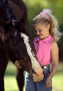 Children, Horses, Summer, Camp